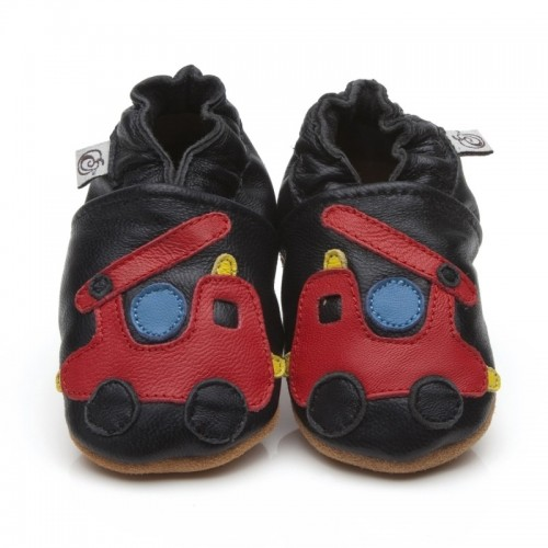 Black Fire Engine Shoes