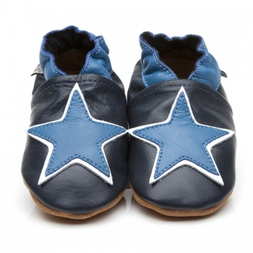 Blue Big Star Shoes