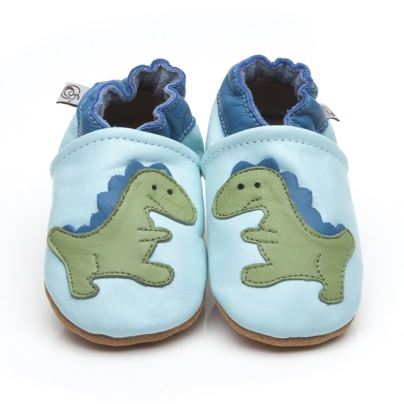 blue dinosaur shoes