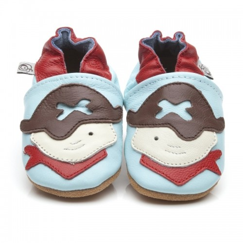 Blue Pirate Shoes