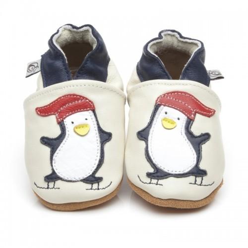 Cream Penguin Shoes