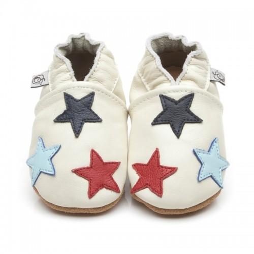 Cream Star Shoes