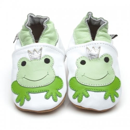 White Frog Shoes