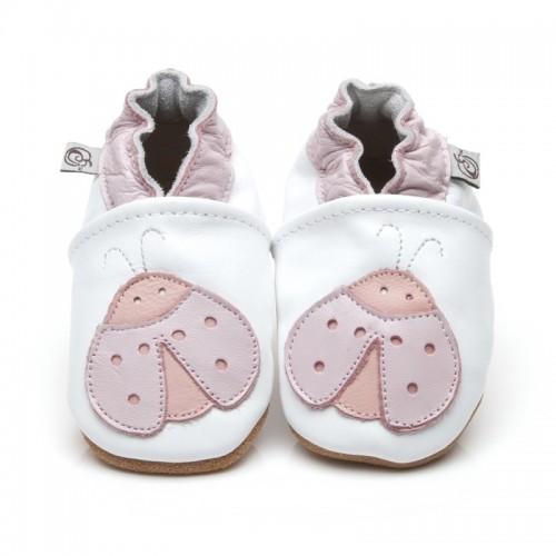 White Ladybug Shoes
