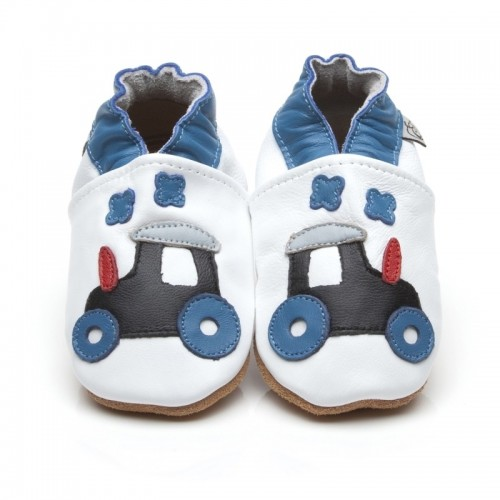 White Tractor Shoes