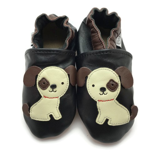 black dog shoes