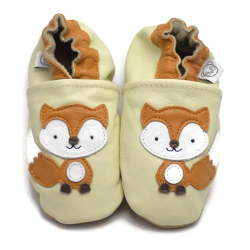 Cream Fox Shoes