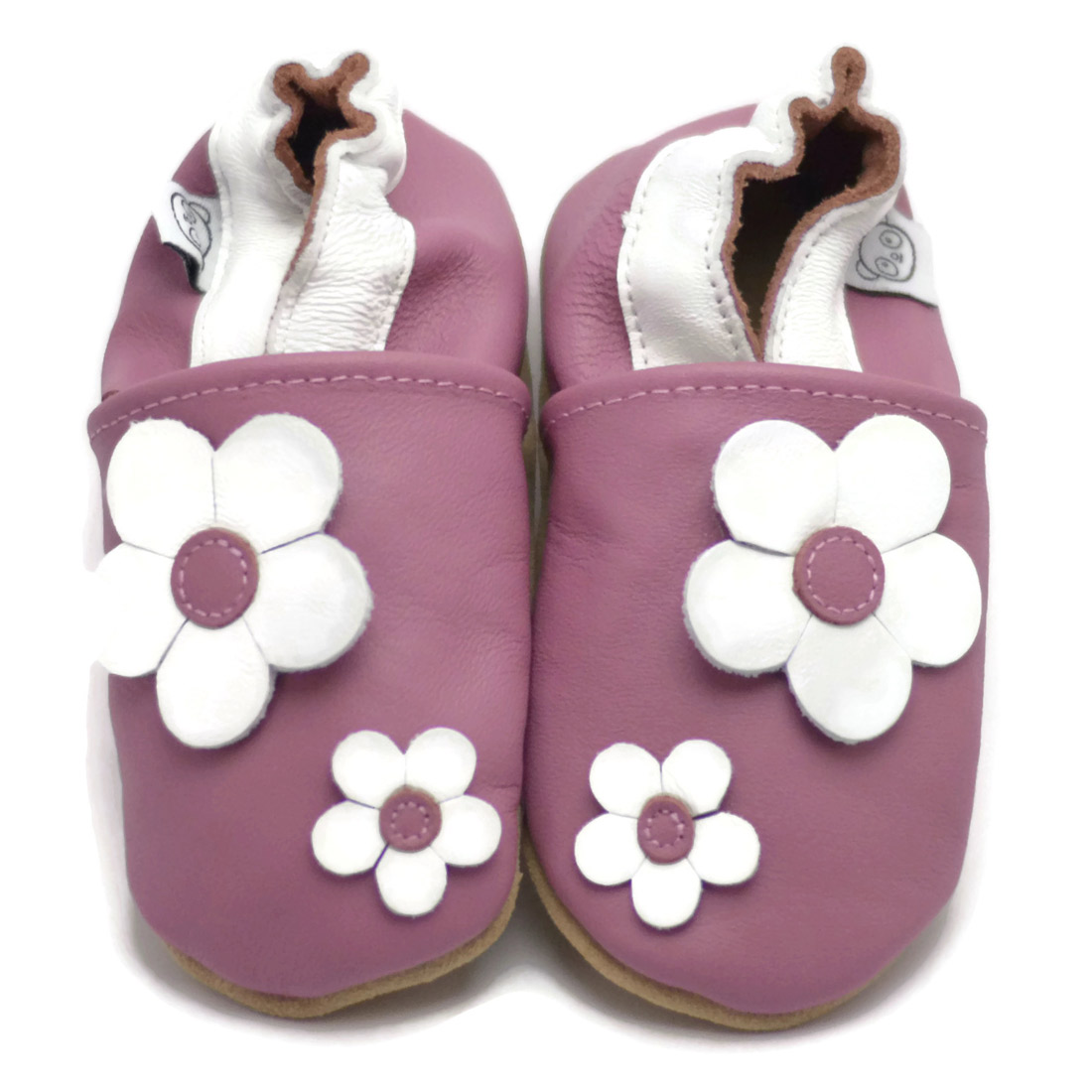 Pink flower shoes panda feet pink flower shoes mightylinksfo