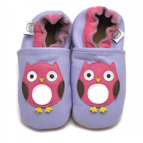 Purple Owl Shoes