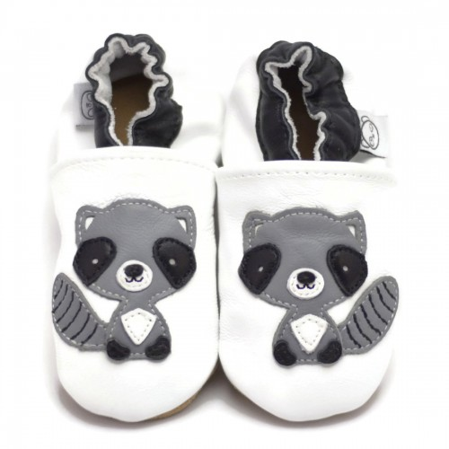 White Raccoon Shoes