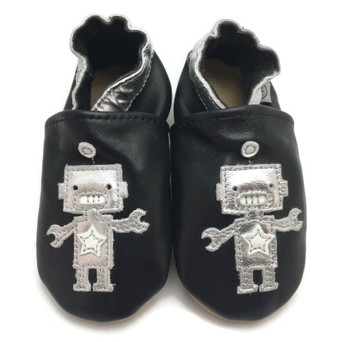 Black Robot Shoes