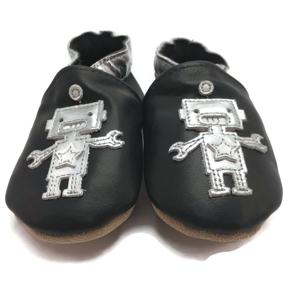 Black Robot Shoes — Panda Feet