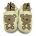 Cream Teddy Bear Shoes