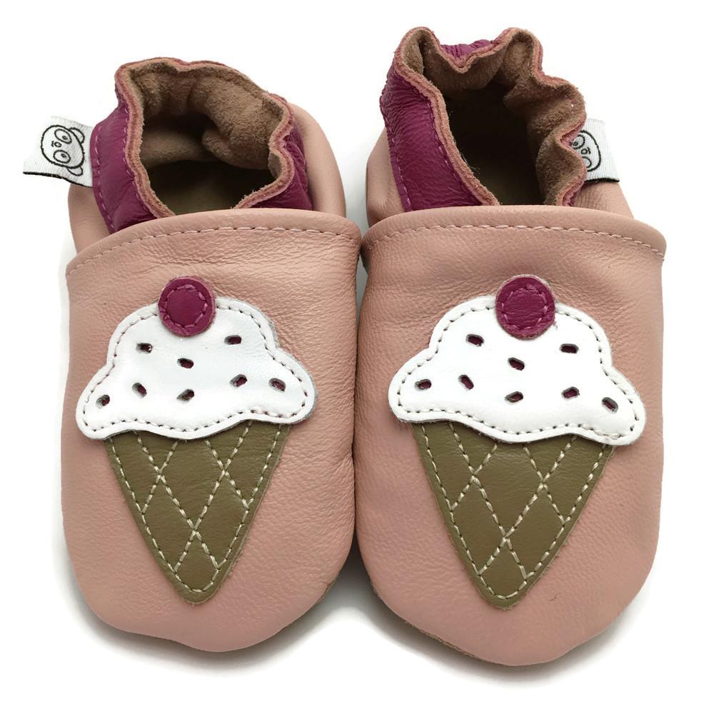 860e2b2a7 Pink Ice Cream Shoes — Panda Feet