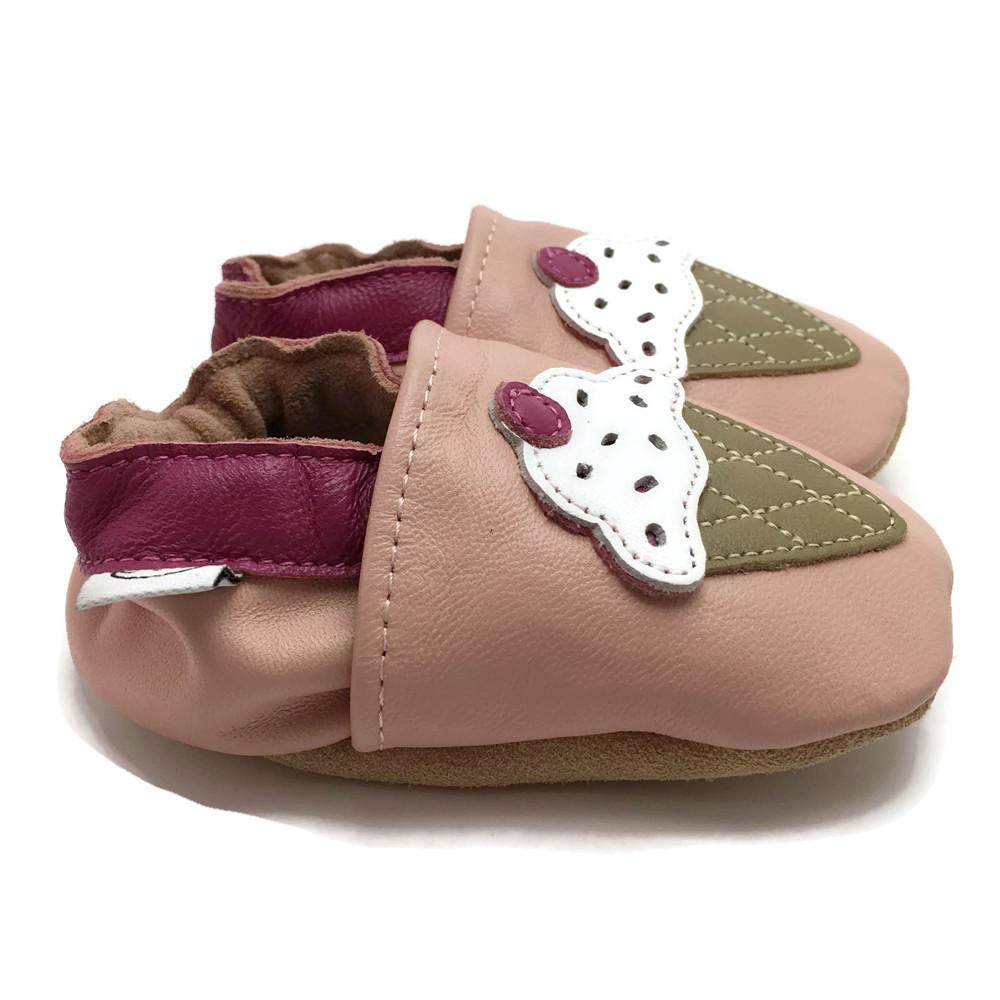 Pink Ice Cream Shoes — Panda Feet