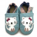 Turquoise Cat Shoes