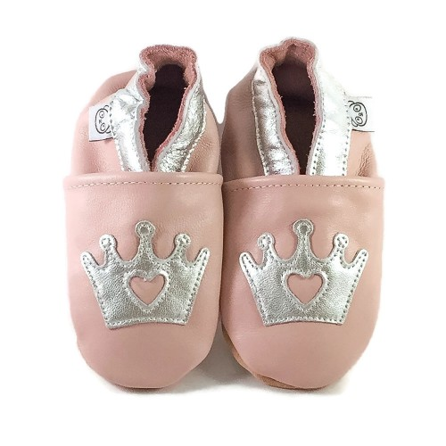 Pink Crown Shoes