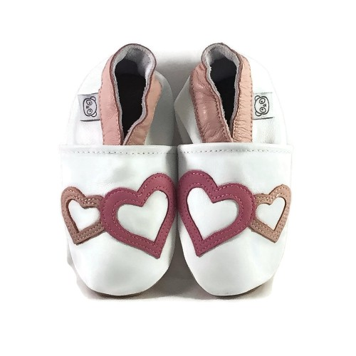 White Hearts Shoes
