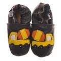 Black Cement Truck Shoes