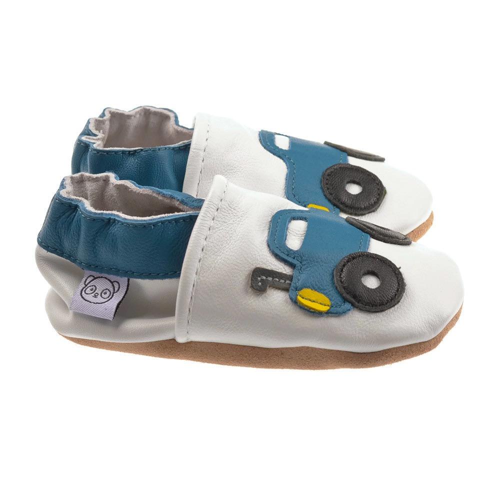 White Monster Truck Shoes — Panda Feet