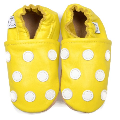 Yellow Dot Shoes
